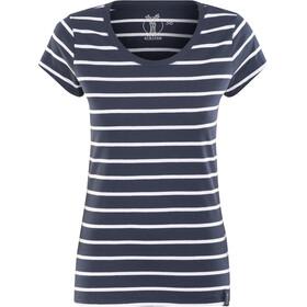 Elkline Anna - T-shirt manches courtes Femme - bleu/blanc